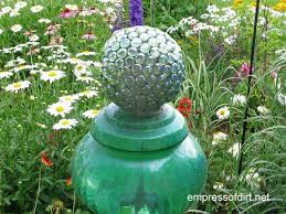 How To Make Decorative Balls Diy Decorative Garden Ball Tutorial Empress Of Dirt