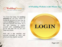 tools to register for wedding 10 wedding websites with whom you may register yourself