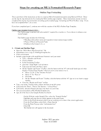 MLA Format Sample Paper  with Cover Page and Outline   MLA Format MLA Format Sample