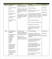 media storyboard template effects none 4 instructional media