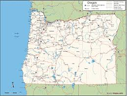 oregon county map oregon county wall map from maps