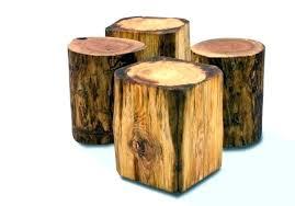 tree stump accent table wood stump end table amazing coffee table wonderful tree stump