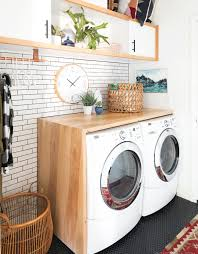 How To Decorate Laundry Room Garage Laundry Room Decoration Ideas