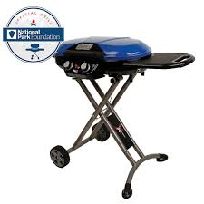 weber genesis ii e 410 4 burner propane gas grill in smoke with