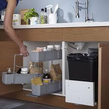 castorama rangement cuisine rangement sous évier cleaning 49 90 castorama cuisine