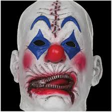 clown masks partynutters uk evil clown mask halloween mens