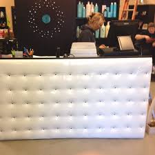 Rem Suflo Reception Desk Tufted Reception Desk U2013 Valeria Furniture