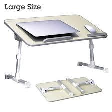 Portable Standing Laptop Desk Large Size Adjustable Laptop Bed Coach Table Portable Standing