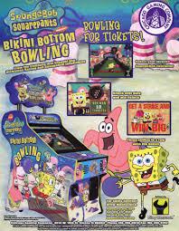 the arcade flyer archive arcade game flyers spongebob