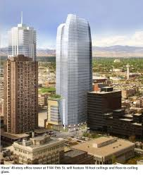 new downtown office tower will be one of denver u0027s tallest
