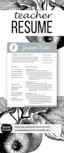 Samples Of Resume For Teachers by 45 Best Teacher Resumes Images On Pinterest Teaching Resume