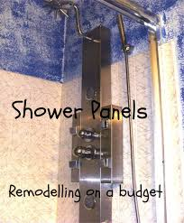 Remodeling Bathroom On A Budget by Retrofit Shower Panels Bathroom Remodeling On A Budget Dengarden