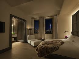 New York City Bedroom Furniture by Deluxe Guest Room In New York City The New York Edition