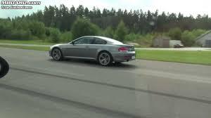 bmw 335i coupe manual vs bmw 650i coupe x 2 races youtube
