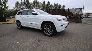 white jeep cherokee 2017 2017 jeep grand cherokee overland bright white clearcoat