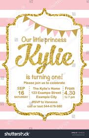 princess first birthday party invitations image collections