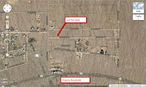 Route 66 Google Map by 1 4 Acre Lot Near Route 66 Mohave County Az Sunnyland Com