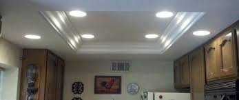 kitchen fluorescent lighting ideas living room the recessed light fluorescent can