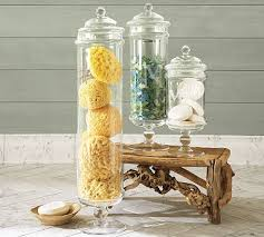 bathroom apothecary jar ideas craftionary