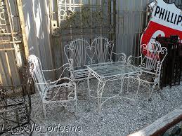 Antique Wrought Iron Patio Furniture by Antiques Com Classifieds Antiques Antique Garden