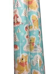 Winnie The Pooh Nursery Curtains by Amazon Com Winnie The Pooh Gift Wrap 40 Sq Ft 1 Roll
