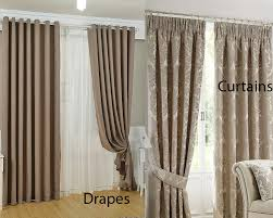 tremendous drapes vs curtains drapes vs curtains which one is