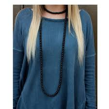 long double necklace images Shop double wrap necklace on wanelo jpg