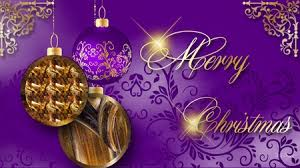 Purple Gold Christmas Decorations Christmas Purple And Gold 3d And Cg U0026 Abstract Background