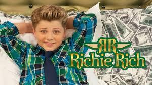 boy model richie set richie rich tv series news live action re make set to air on