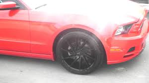 Black Mustang Rims 877 544 8473 20 Inch Ruff Racing R2 All Black Wheels Ford Mustang