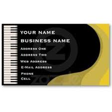 Business Card Music Classy Music Notes Music Teacher Business Card This Great