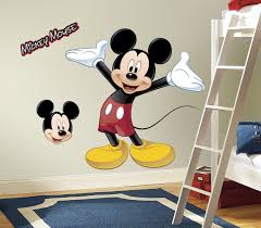 mickey mouse friends the wall shop rmk1508gm black wall stickers wall decor wall decals self adhesive roommates room decor repositionable removable rmk1508gm mickey mouse