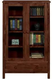 Wooden Bookcase With Doors Benefit For Bookcase With Glass Doors Design Ideas U0026 Decors
