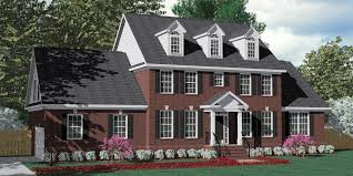 House Dormers Photos Southern Heritage Home Designs House Plan 3120 C The Pendleton C