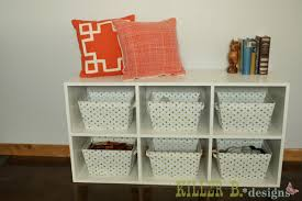 slim 6 cube bookcase a how to build an ikea style shelving unit
