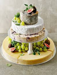 wedding cake made of cheese small cheese celebration cake m s