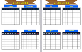 yearly calendar template free printable calendar templates