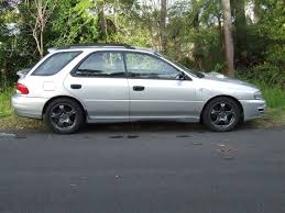 nsw 1998 subaru wrx wagon silver