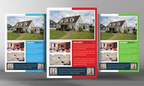 Real Estate Listing Flyer Template Free by Real Estate Flyer Template Flyer Templates Creative Market