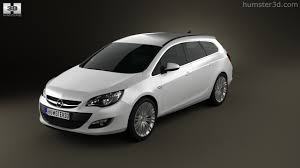 opel astra 2012 360 view of opel astra j sports tourer 2012 3d model hum3d store