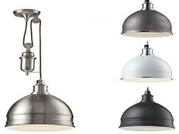 Pulley Pendant Light Laundry Room Lighting Farmhouse Pulley Pendant Light Interior