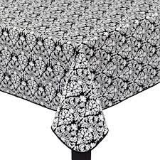 Patio Table Cover With Umbrella Hole Zipper by Waverly Damask Peva Tablecloth With Umbrella Zipper Christmas