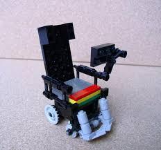 Stephen Hawking Chair Stephen Hawking In Lego Form Geekologie