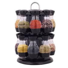 carrousel cuisine etagère à épices carrousel à épices de cuisine en plastique