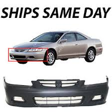 01 honda accord coupe primered front bumper cover for 2001 2002 honda accord coupe