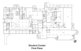 Pharmacy Floor Plans by Student Center First Floor The University Of Kentucky