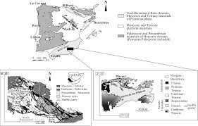 Iberian Peninsula Map Roman Quarries Of The Iberian Peninsula U201canasol U201d And U201canasol