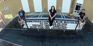 projektionsfläche wolfener filmtheater projektionsfläche bringt kunst und kultur