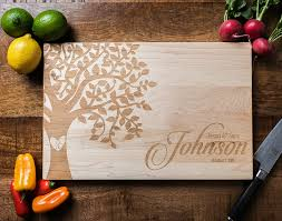 personalized wedding cutting board personalized cutting board personalized wedding gift custom