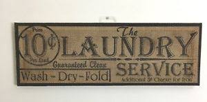 laundry room signs wall decor primitive burlap laundry room sign wash fold primitive country